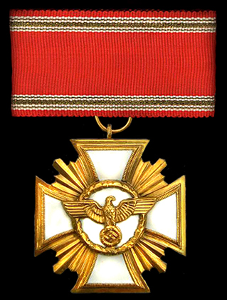 25 year Long Service Cross - NSDAP