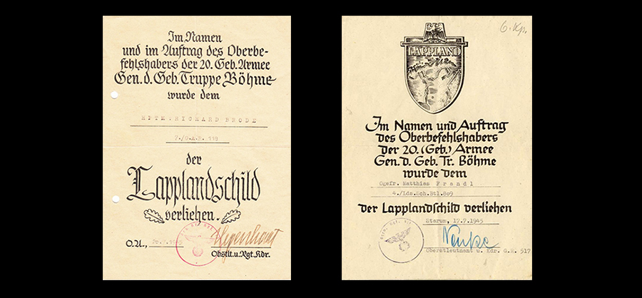 Documents for the Lappland Shield