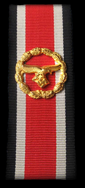 Honour Roll Clasp on ribbon