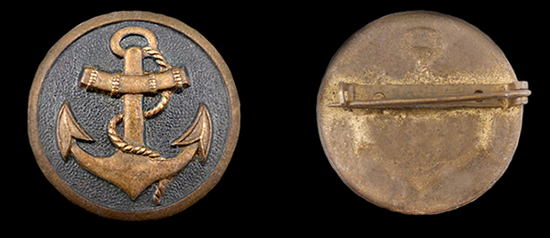 Marine Auxiliaries Brooch
