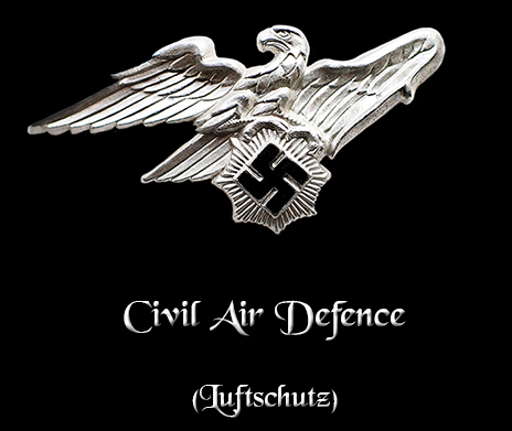 Civil Air Defence - Luftschutz