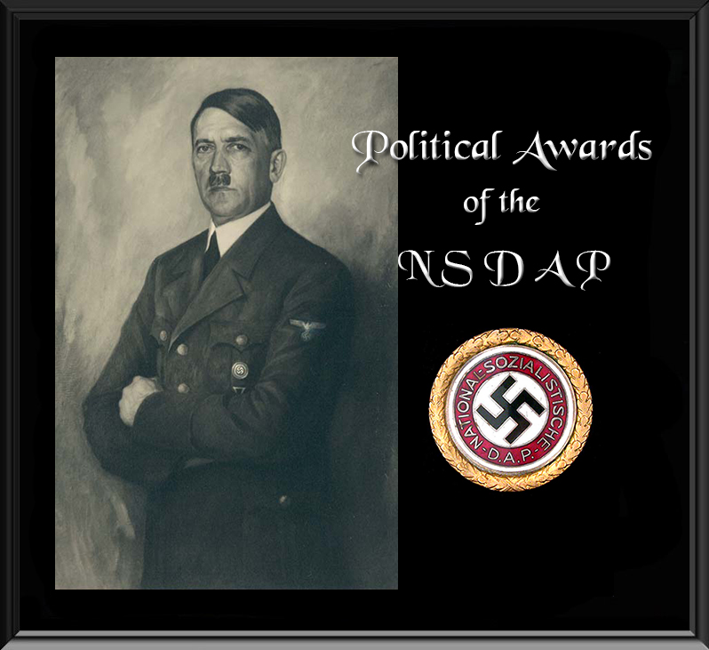 Political Awards of the N S D A P