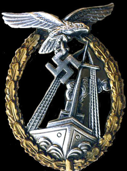 Sea Battle Badge - Seekampfabzeichen der Luftwaffe